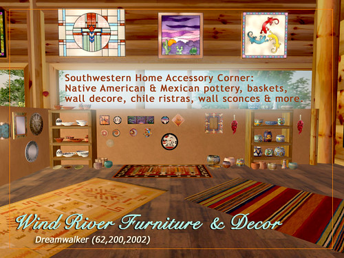 Southwestern Accessory Corner by Teal Freenote