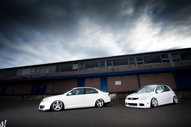Mike and Sam's Mk5s