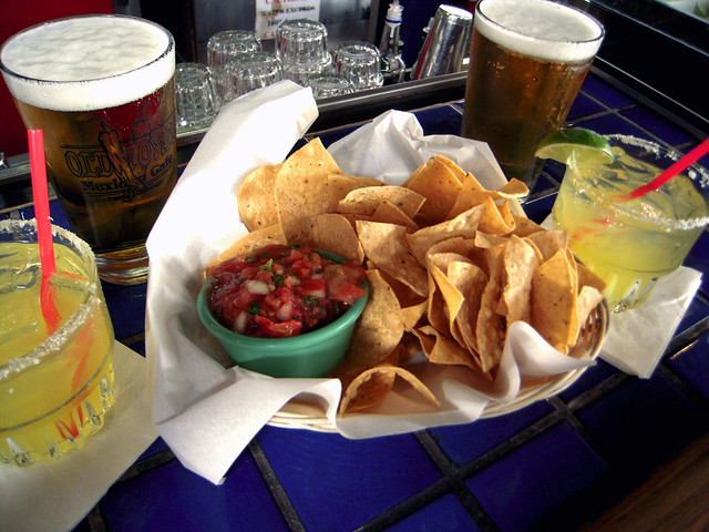 Margarita, Beer, Chips & Salsa
