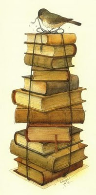 Stacked Books!