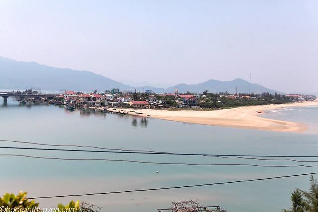 View from the train ride, Hue - Nha Trang
