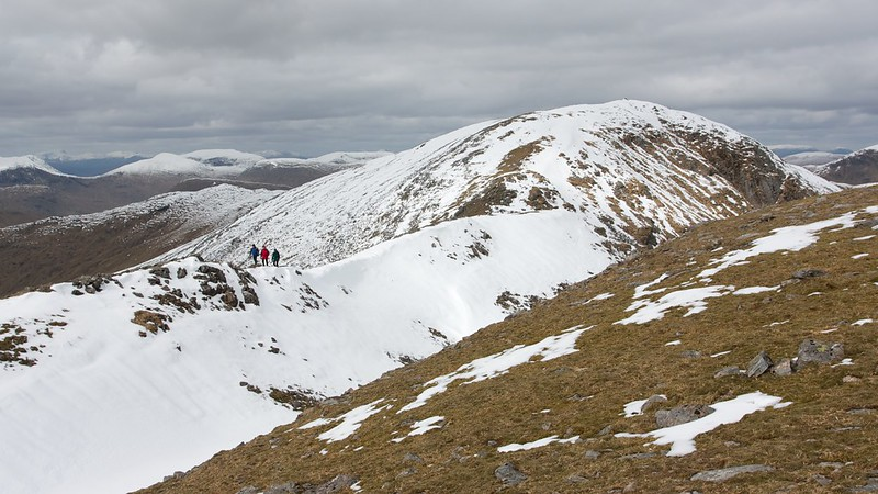 Walkers on the West Ridge