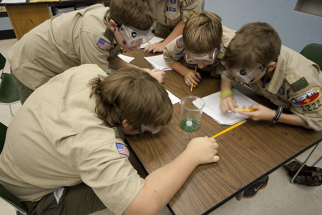 Boy Scouts - Chemistry Merit Badge