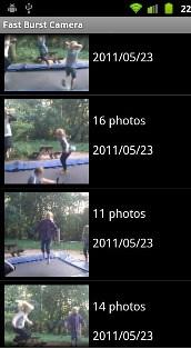 9. Fast Burst Camera