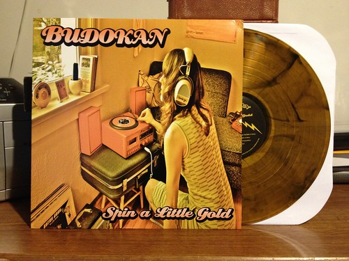 Budokan - Spin A Little Gold LP - Gold w/ Black Smoke Vinyl (/150) by Tim PopKid