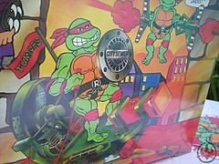 "Tara Toy Corp. :: ""TEENAGE MUTANT NINJA TURTLES"" - COLLECTORS CASE xiv (( 1988 ))"