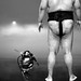 The Extraterrestrial and the Sumo Wrestler by Hank Conner