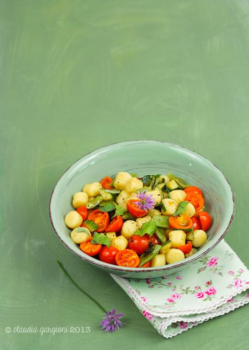 verdure profumate e croccanti