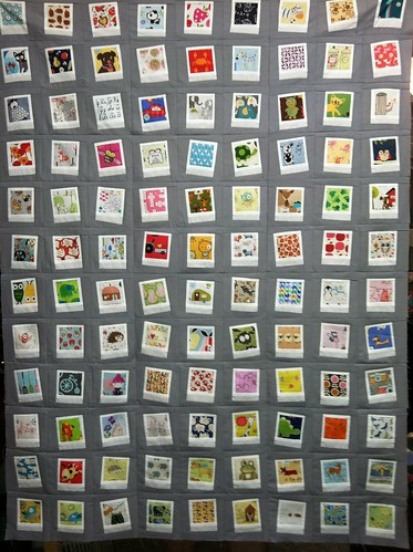 Polaroid Quilt Top for nephew Flynn