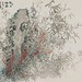 吳士偉‧秋日金華‧ 水墨紙本設色‧24x27.3 cm‧2011