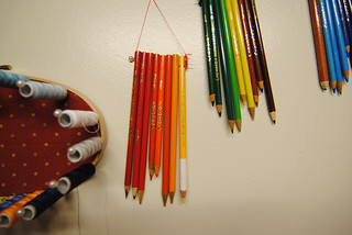 Pencils & Thread holders