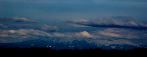 Mt. Hood shrouded