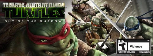 """TEENAGE MUTANT NINJA TURTLES : OUT OF THE SHADOWS"" //  ..cover photo (( 2013 ))  [[ Courtesy of Activision  ]]"