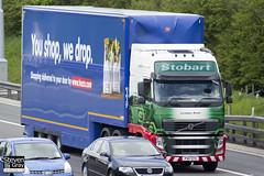Volvo FH 6x2 Tractor - PX11 CFG - Lyndsay Anne - Eddie Stobart - M1 J10 Luton - Steven Gray - IMG_9142