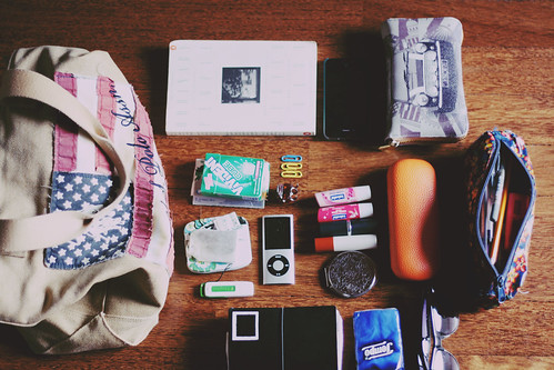 What's in my bag 2013
