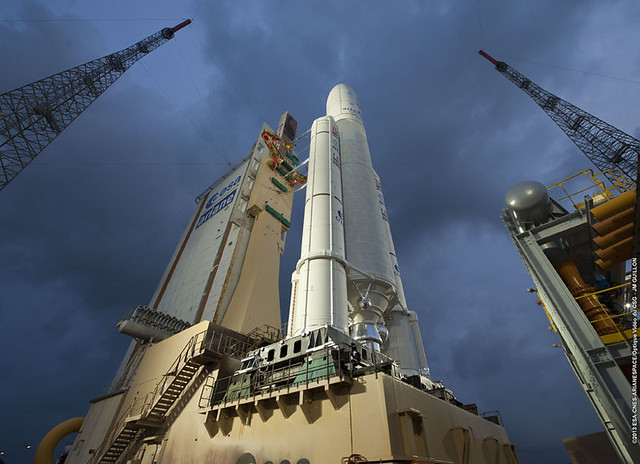 Ariane 5 VA213 ready for liftoff