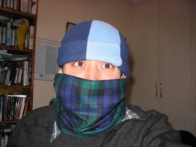 Daniel is cold, June 2003