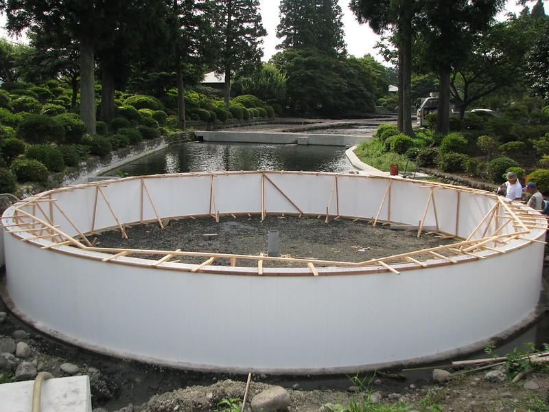 Hayashi Trout Farm Construction