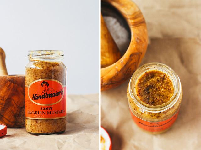 Sweet Bavarian mustard