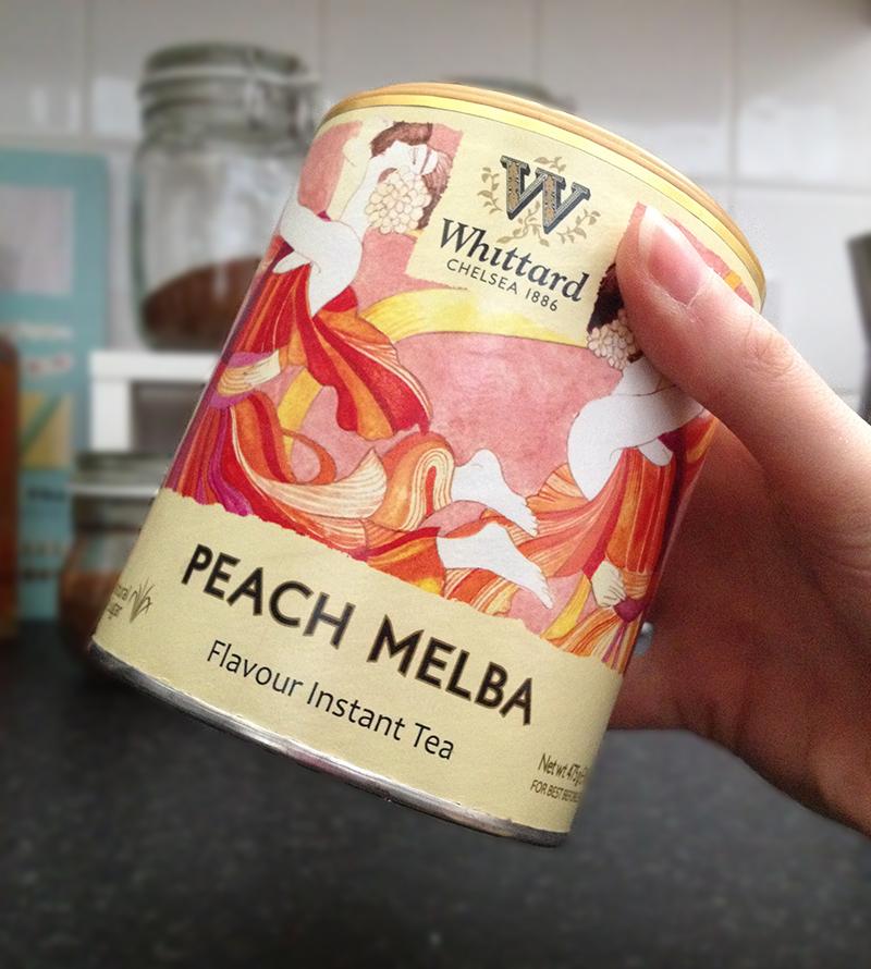 Whittard of Chelsea Peach Melba Instant Tea | www.latenightnonsense.com