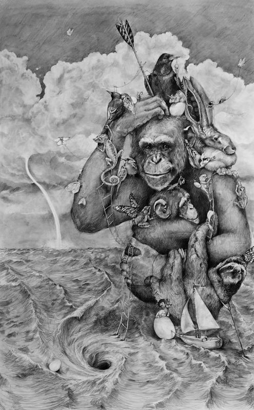 Adonna Khare, The Chimp and the Whirlpool, 2013