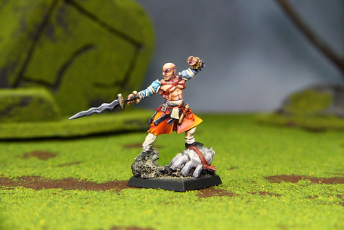 Cool Mini or Not Miniature for fantasy wargaming