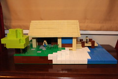 LEGO Minecraft Seaside Home MOC - Image 1