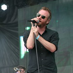 NY's own The National on the main stage at Bonnaroo 2013. Photo by Laura Fedele