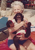 My mother's mother and ape