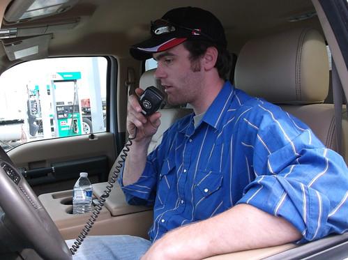Kurt on the radio