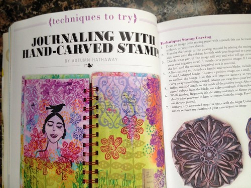 Published article in Art Journaling magazine!