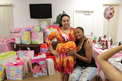 event, party, baby shower, pink,