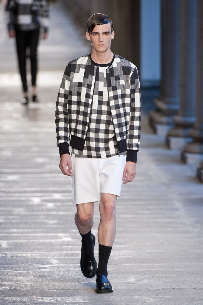 SS14 Milan Neil Barrett001_Elliot Vulliod(fashionising.com)