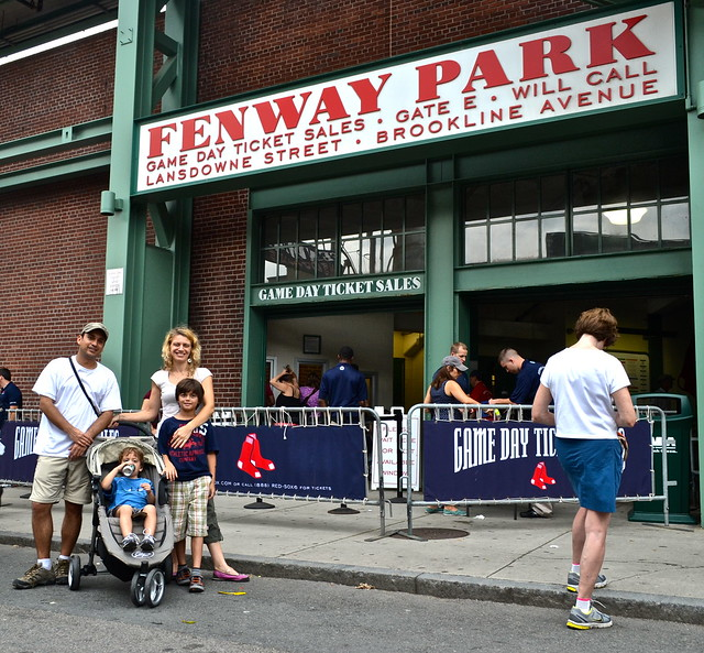 Fenway Park Review With Facts: A Baseball Game In Boston With Kids
