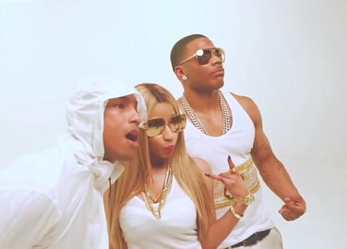 "Behind the Scenes: Nelly Feat. Pharrell & Nicki Minaj ""Get Like Me"""