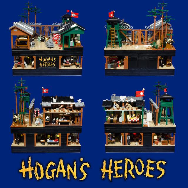 Hogan's Heroes Quad View