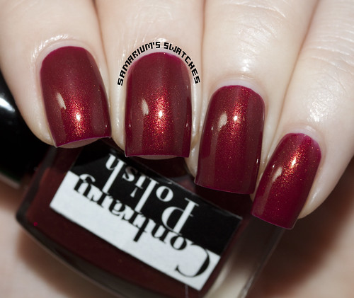 Contrary Polish Blood Orange