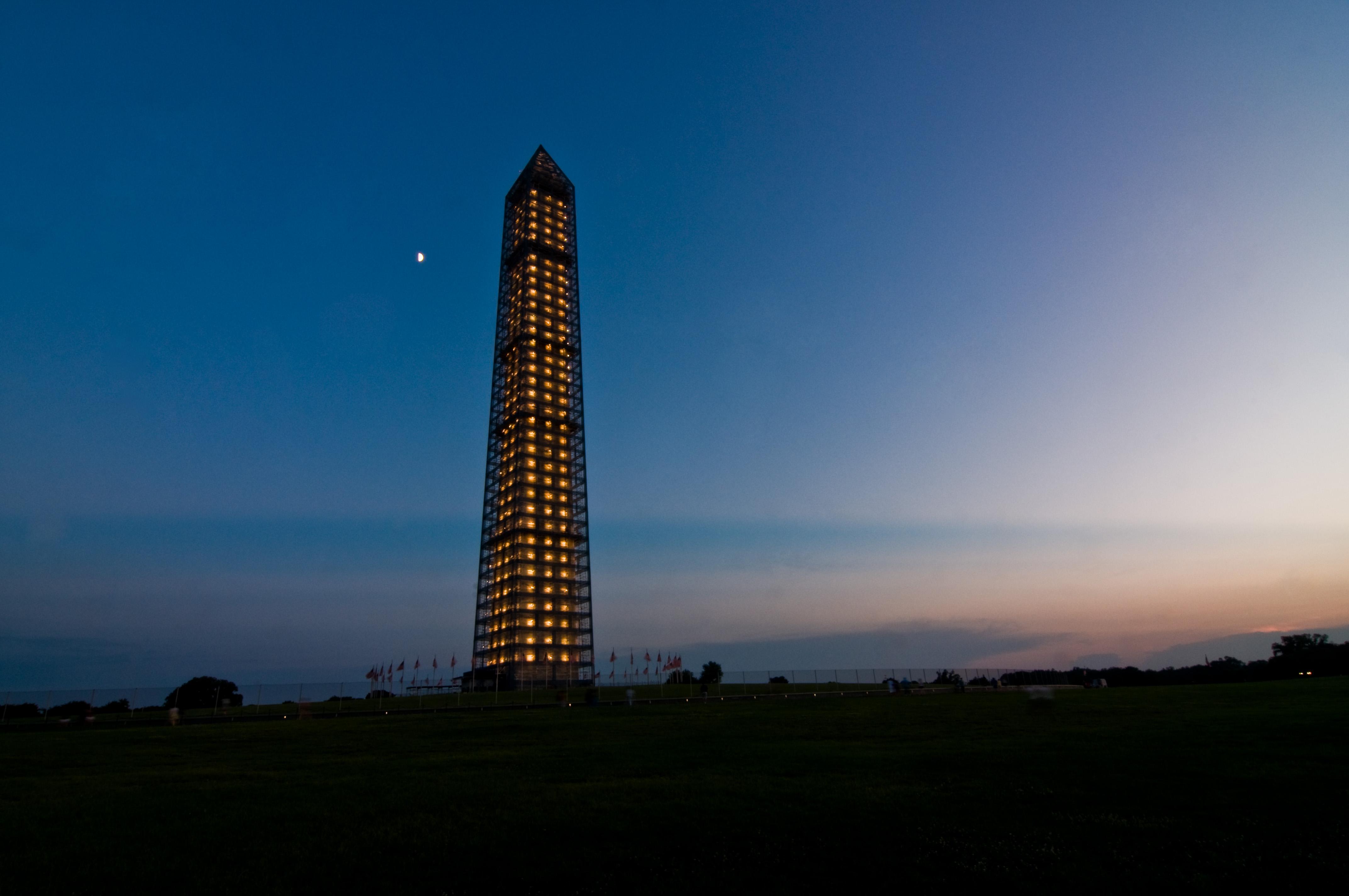 Washington Monument - In the Failing Light - 07-16-13