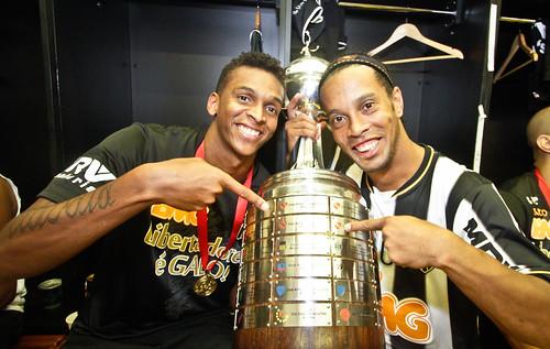 Atlético x Olímpia 24.07.2013 - Campeão da Taça Libertadores 2013