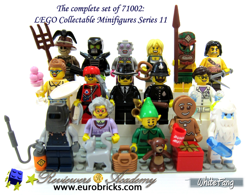 REVIEW: 71002 LEGO Collectable Minifigures Series 11 - Special ...
