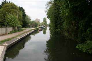 The Kennet and Avon Canal at Aldermaston