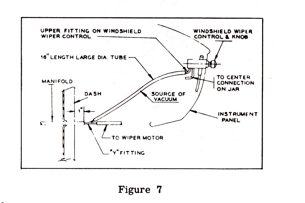 1950 ford wiper vacuum diagram  1950  free engine image