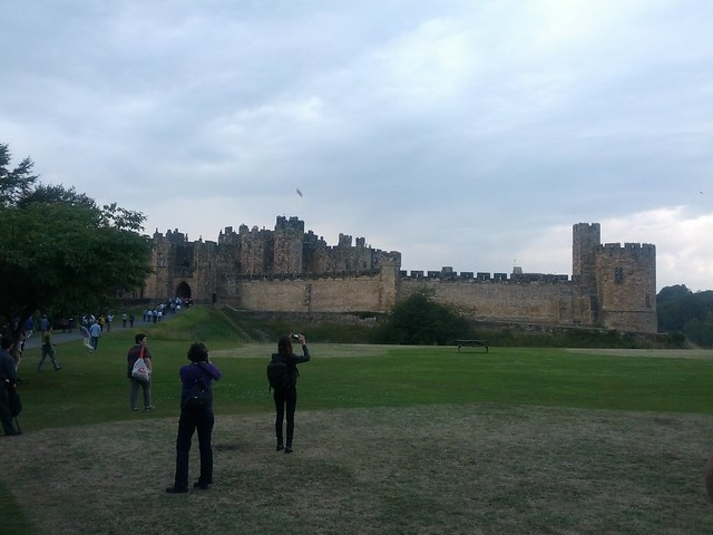 Header of Alnwick Castle
