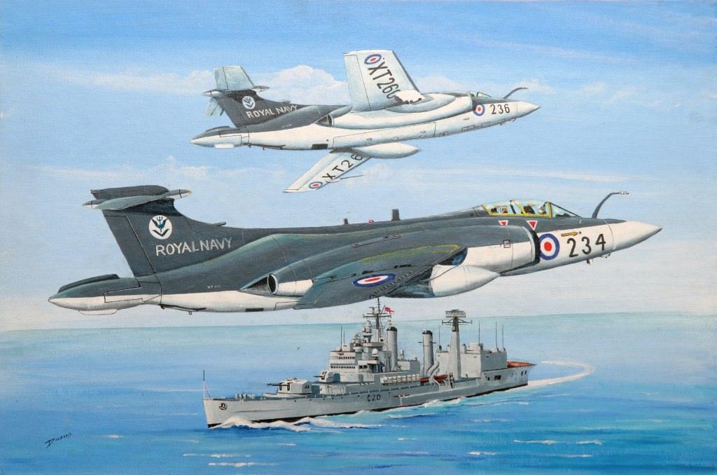 Aviation Artwork of Local Hermanus Artist Derrick Dickens ...