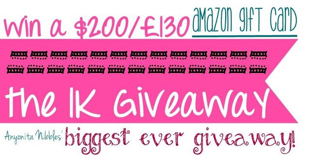 1k giveaway logo