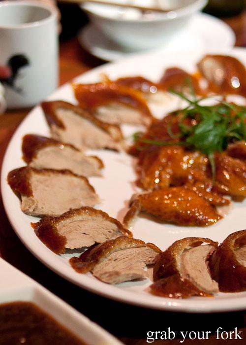 peking duck roast meat