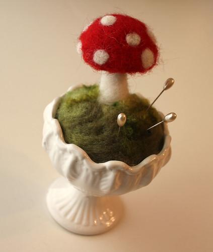 Mushroom Garden by Barbara Weiss