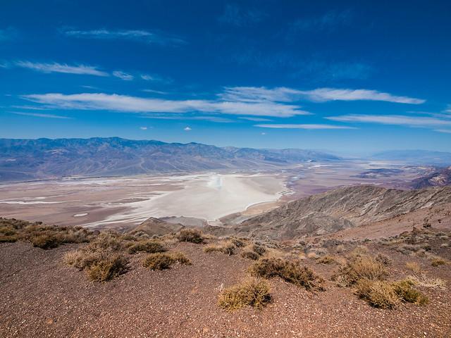 Dante's View, Parque Nacional del Valle de la Muerte, California