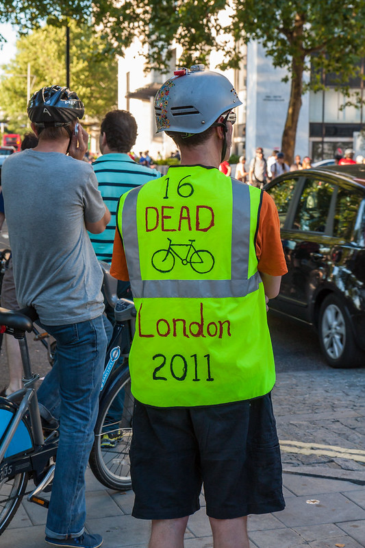 Space for Cycling ride, London, 02 September 2013
