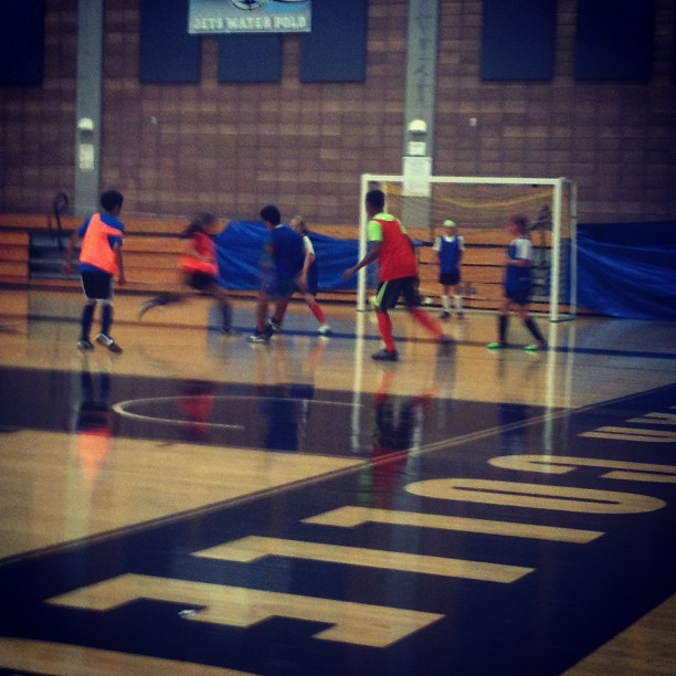 Futsal time! #futsal #indoorsoccer #football #boys #teens